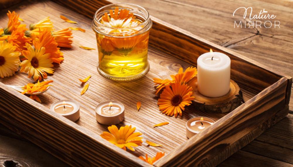 Készíts körömvirág olajat, amivel maszírozhatod fájó ízületeidet!