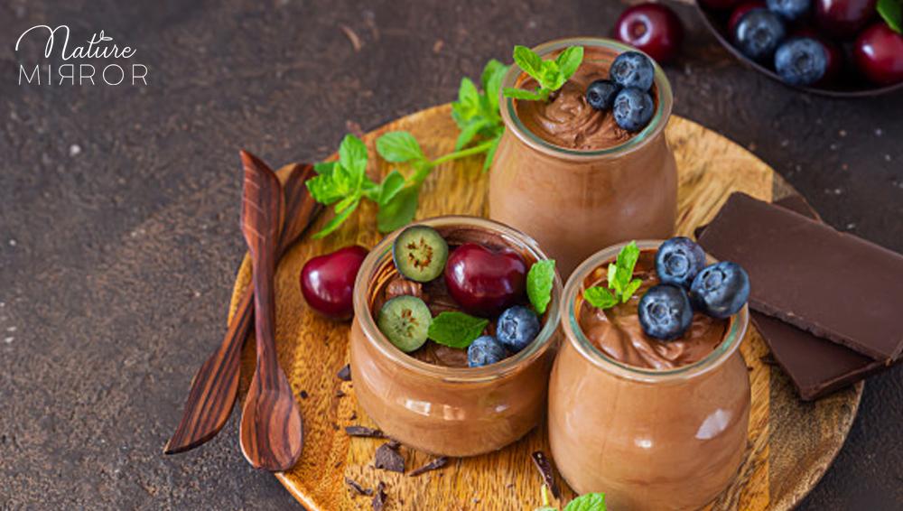 Cukormentes csokimousse recept